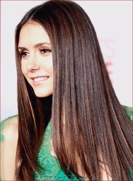 Cortes de cabello largo y lacio
