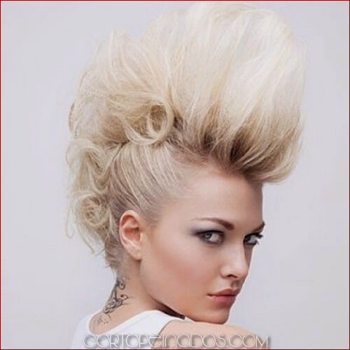 50 ideas brillantes de estilo Faux Hawk