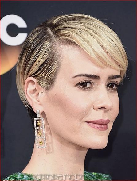 25 peinados cortos con clase y de moda famosos