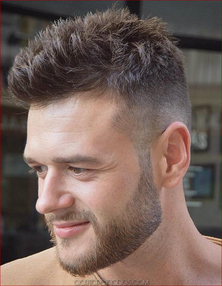 30 peinados cortos para hombres - Be Cool And Classy