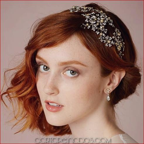 50 peinados de boda para el pelo corto