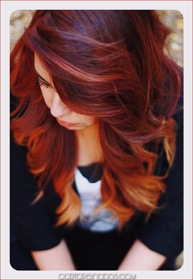 81 pelo rojo con destacados ideas que te encantarán