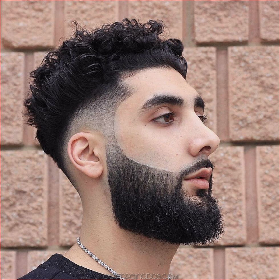 25 Peinado Para Hombre Para El Cabello Rizado Para Mirar