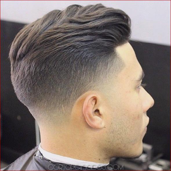 101 Elegante Taper Fade corte de pelo para hombres
