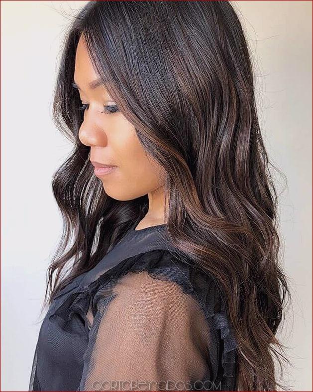 50 ideas divertidas para el cabello de color marrón oscuro para sacudir las cosas
