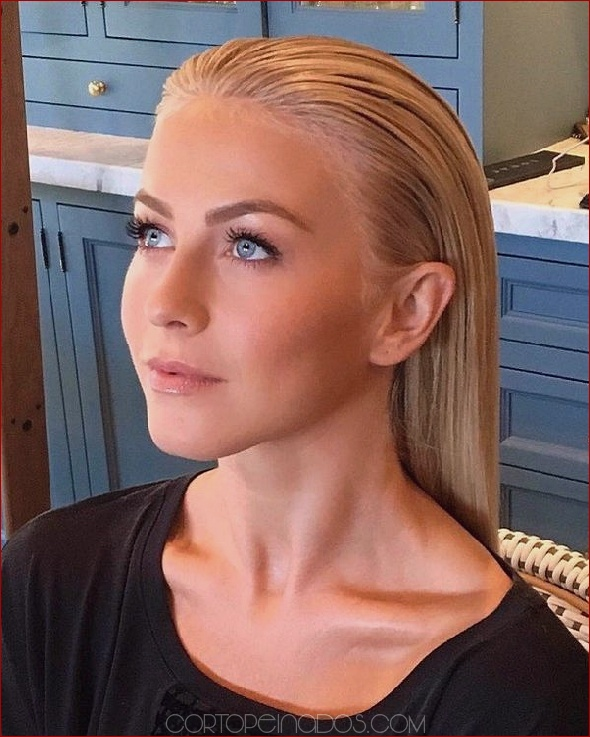Julianne Hough peinado - pelo corto y largo