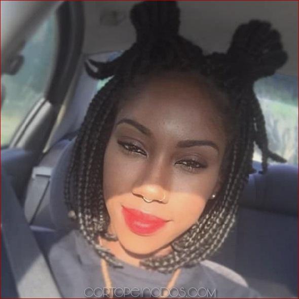 68 inspiradores trenzas negras para mujeres negras