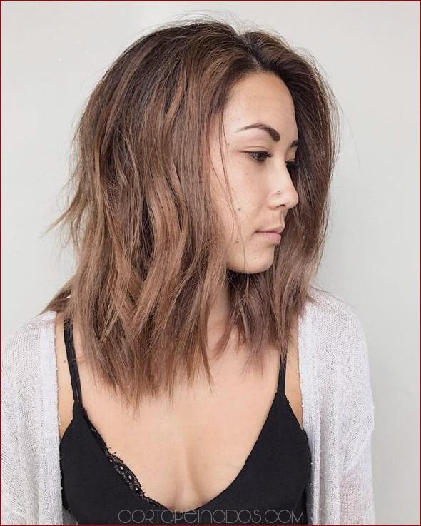 Peinados inspiradores Bob en capas largas , Cortopeinados.com