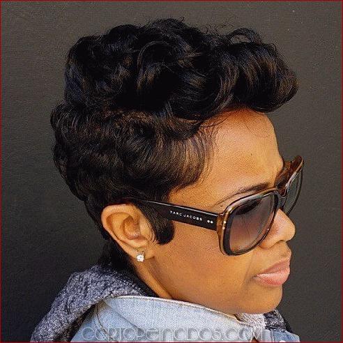 50 preciosos peinados negros para las mujeres afroamericanas