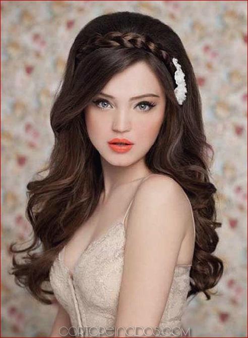 30 Peinados Largos Y Sencillos Para Que Las Mujeres Se Vean