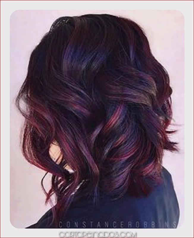 90 destacados para el cabello negro que se ve bien en cualquier persona