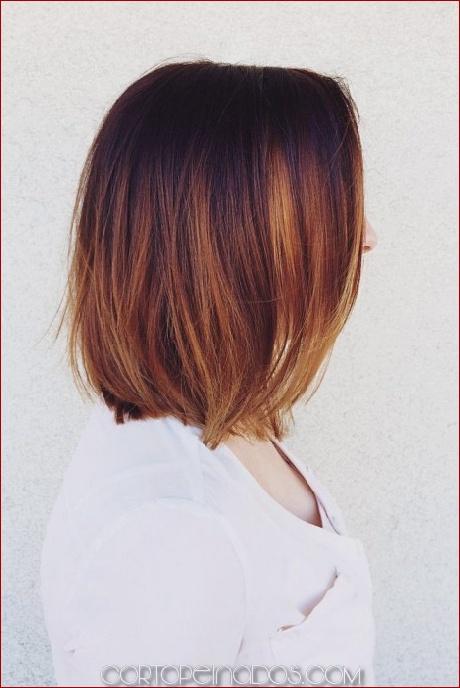 40 ideas de pelo corto Ombre
